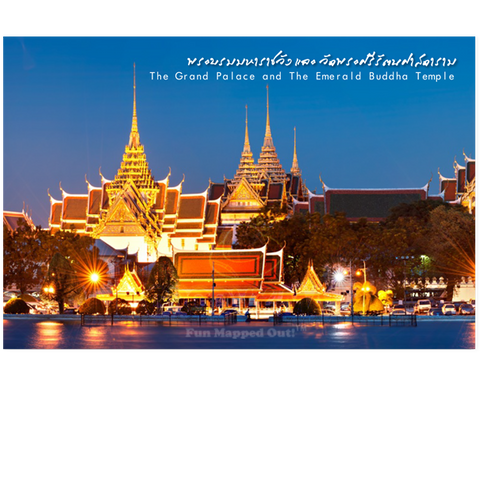 Bangkok: Grand Palace Night (PC), 8859194801632