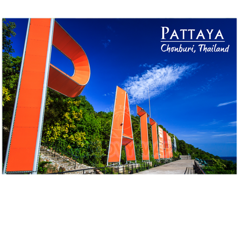 Pattaya: Sign Pattaya (PC), 8859194801663