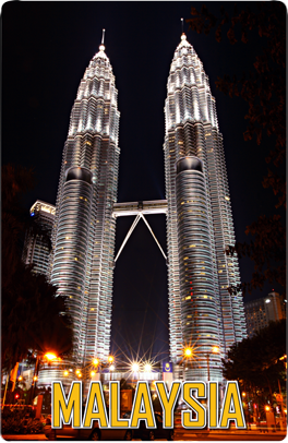 Petronas Towers KL, 8859194802318