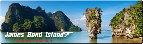 Phuket: James Bond Island Phuket (Long), 8859194802561