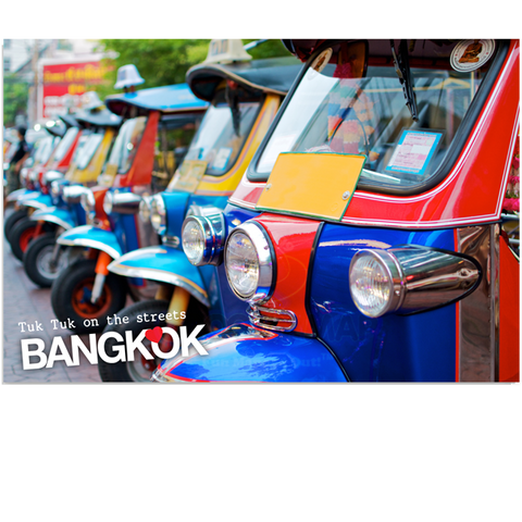 Bangkok: Tuk Tuk on the streets (PC), 8859194803193