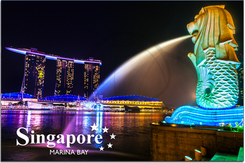 Singapore: PC Marina Bay and Lion 8859194803872