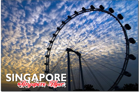 Singapore: PC Flyer at Sunset 8859194804060