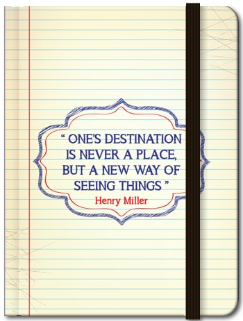 One's Destination is Never a Place (Blank), 8859194804145