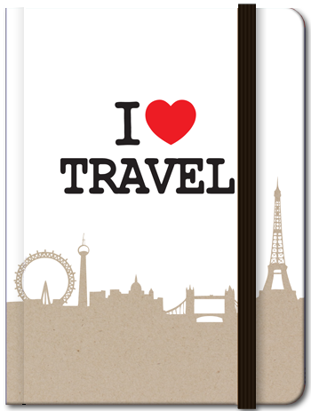 Lifestyle: I Love Travel (Blank), 8859194804176