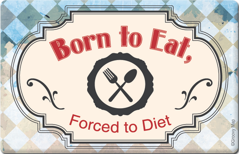 Lifestyle: Born to Eat, Forced to Diet, 8859194804299