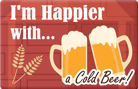 Lifestyle: I'm Happier with a Cold Beer, 8859194804336