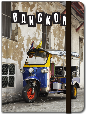 Notebook : Tuk Tuk Bangkok (Lined), 8859194806002