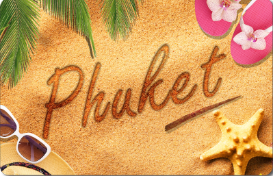 Phuket Beach Writing, 8859194806897