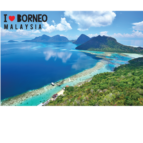 PC - I Love Borneo, 8859194807146