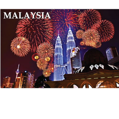 PC - Petronas Towers Fireworks KL, 8859194807214