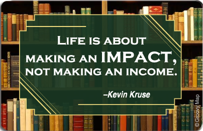 Lifestyle: Life is about making an Impact, 8859194807450