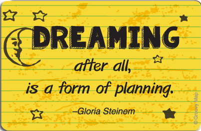Lifestyle: Dreaming after all is a form of planning, 8859194807559