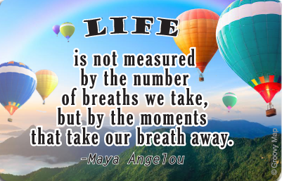 Lifestyle: Life is not measured by the number of breaths, 8859194807573