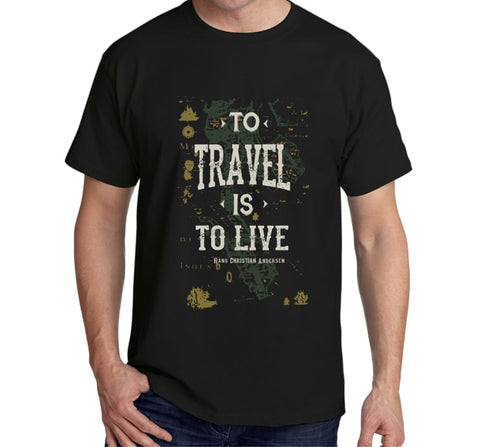 To Travel is to Live (Black)