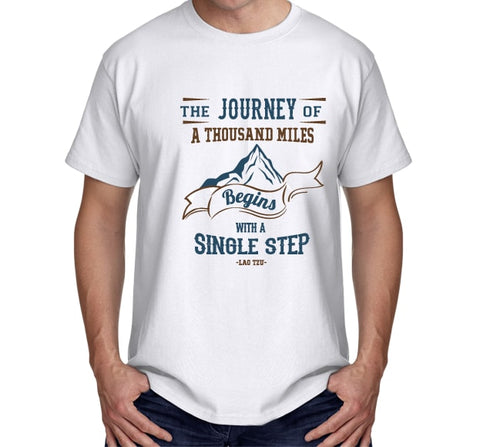 The Journey of a Thousand Miles (White)