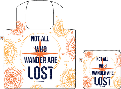 Shopping Bag:Not All Who Wander, ISBN, 8859194818197