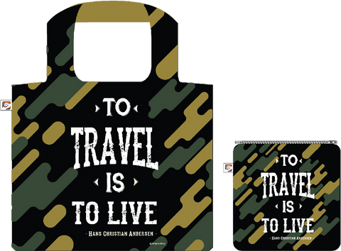Shopping Bag:To Travel is To Live,  ISBN, 8859194818227