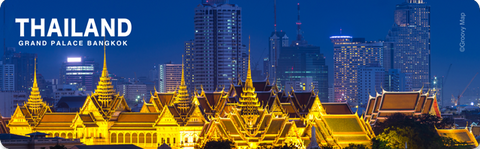 Bangkok : Grand Palace (Long), 8859194813970