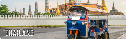 Bangkok : Tuk-Tuk at Grand Palace (Long), 8859194814014
