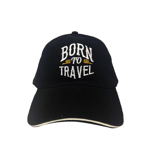 CAPS Lifestyle: Born to Travel (Black), 8859194814243