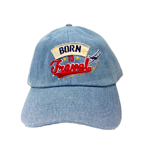 CAPS Lifestyle: Born to Travel (Jeans) 8859194814250