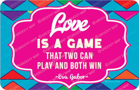 Love is Game That two can play and Both Win,8859194818067