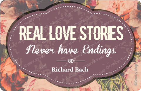 Real Love  stories never have Endings,8859194818081