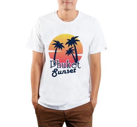 Phuket : Phuket Sunset (White)