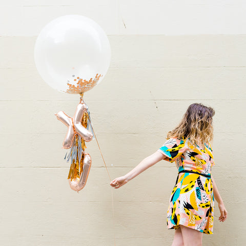 Metallic Kisses Balloon