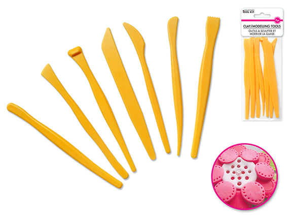 Clay/Modelling Tools Pk of 7