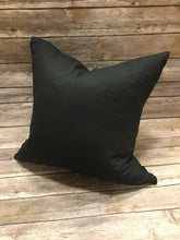 Polyester Pillow Cover- Black