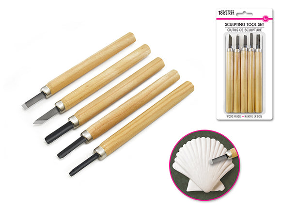 Sculpting Tool Set - 5 pc