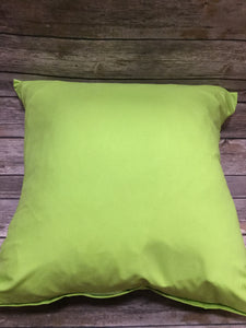Polyester Pillow Cover - Green