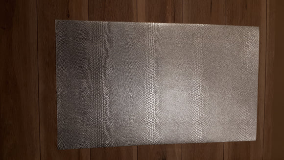 Animal Skin  Patterned Faux Leather