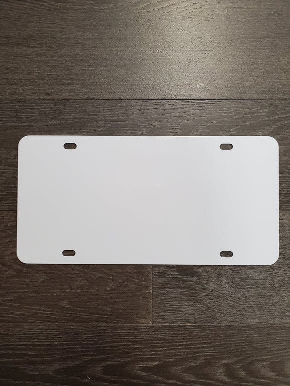 Sublimation License Plates