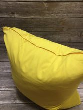 Polyester Pillow Cover- Yellow