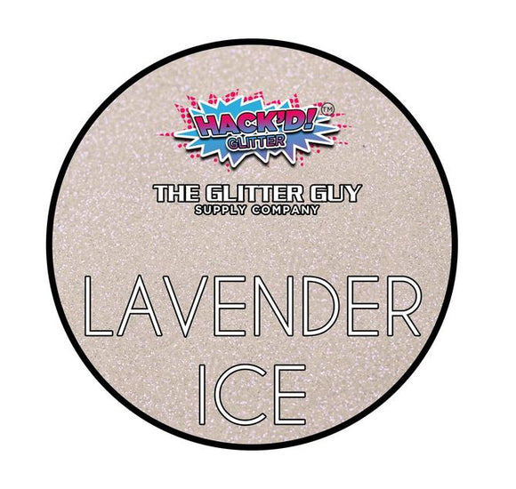 Lavender Ice Hack'd Glitter by the Glitter Guy
