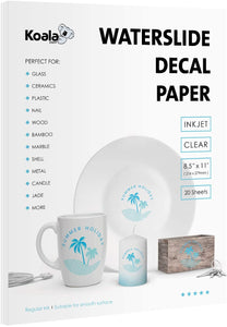 Waterslide Decal Paper for Inkjet Printers