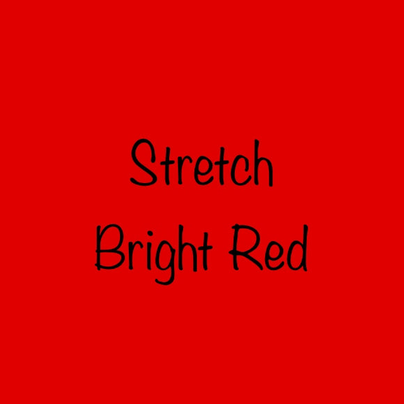 Siser EasyWeed Stretch Bright  Red
