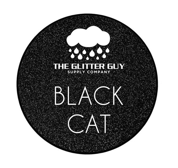 Black Cat Metallic Glitter