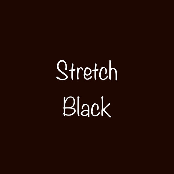 Siser EW Stretch  Black