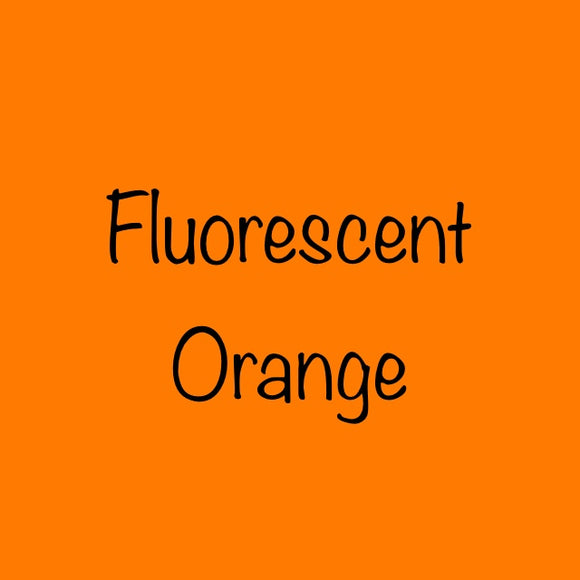 Siser EasyWeed HTV Fluorescent Orange