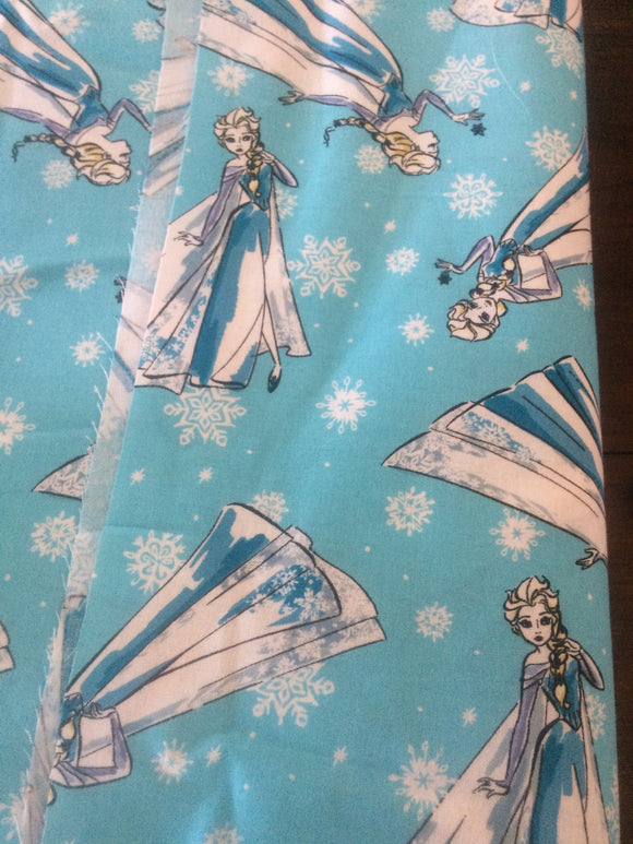 Disney Frozen Fabric - Elsa   by the meter
