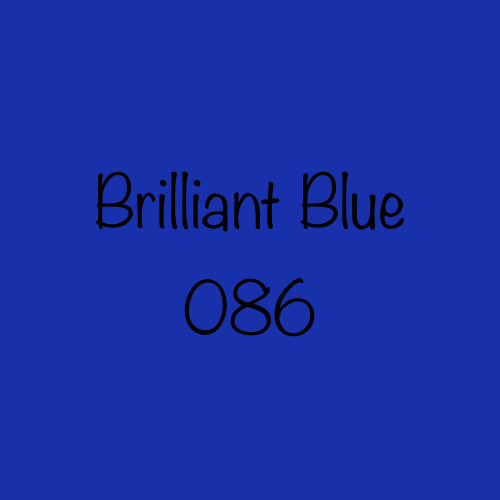 Oracal 651 Permanent Adhesive Vinyl Brilliant Blue (086)