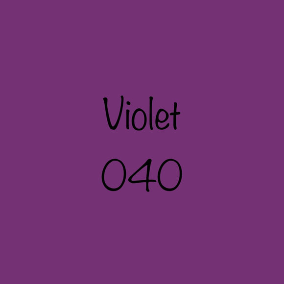 Oracal 651 Permanent Vinyl Violet 040