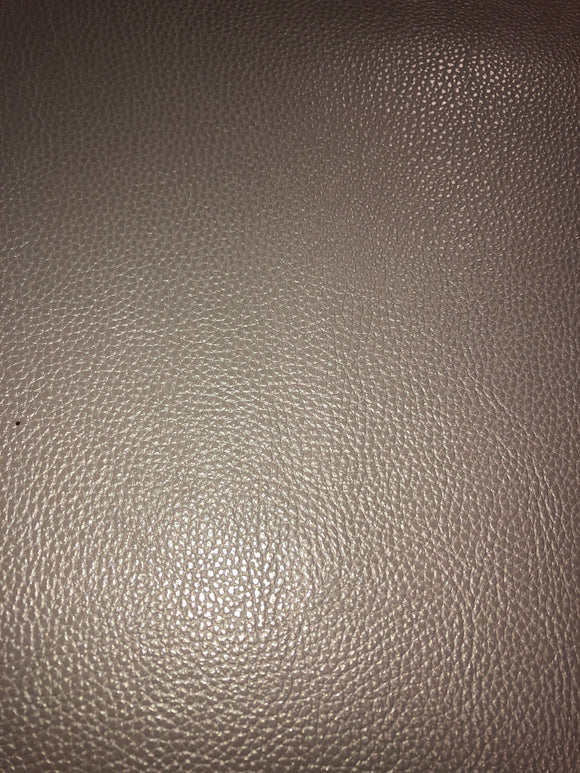 Faux Leather  Glossy Litchi Taupe