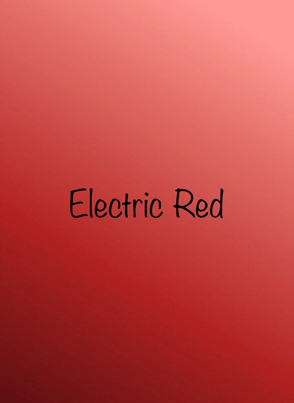 Siser Electric - Red