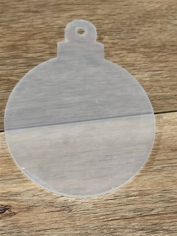 Ornament  Acrylic with Hole