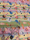 Faux Leather Sheet  Doc With stuffies  LAST CHANCE